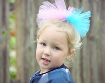 Tutu hair accessory - hair accessory - gymnasts hair accessory - tutu hair tie - girls hair accessories