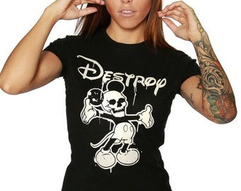Destroy Tee / Mickey Mouse