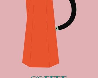 Poster A4 - coffee