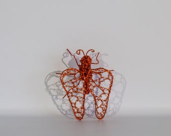 Ladybug Insect Decor Copper Wire Art Wire Sculpture Spring Home Decor