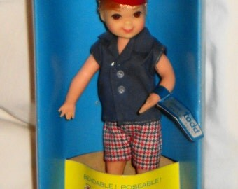Mattel Barbie Tutti's Twin Brother Todd in Original Box, Outfit, and Wrist Tag