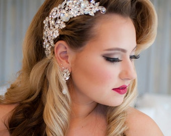 "Bridal Hair Comb - ""Renee"""