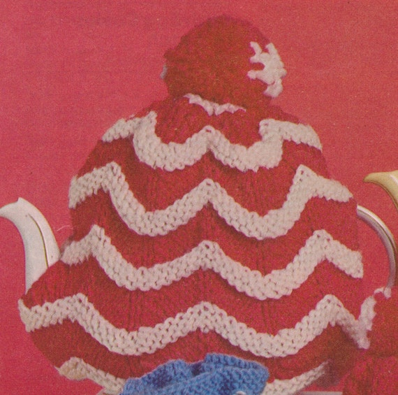 171 vintage knitting pattern tea and egg cosies set for Best selling home decor etsy