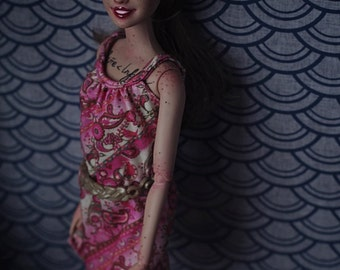 Barbie Repaint Doll OOAK Custom by Azhill