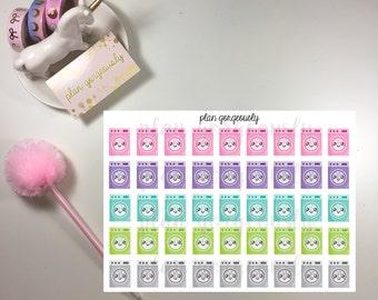 Kawaii Laundry Stickers