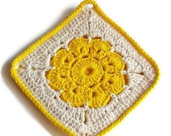 Crochet Potholders,  Handmade Pot Holder,  Crochet Pot Holders,  Pot Holder, 100% Cotton Pot Holder, Kitchen Decoration