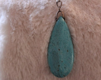 Beauty Chunk Of polished Turquoise