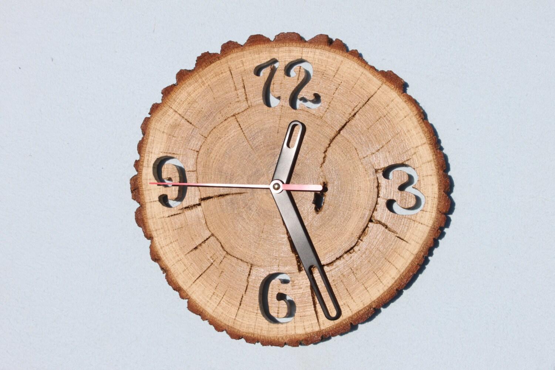 Oak Clock Unique Wall Clocks Wall Clock Wood Big Clock