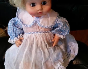 Large Doll Clothes  Pretty Organdy Dress and Underpants