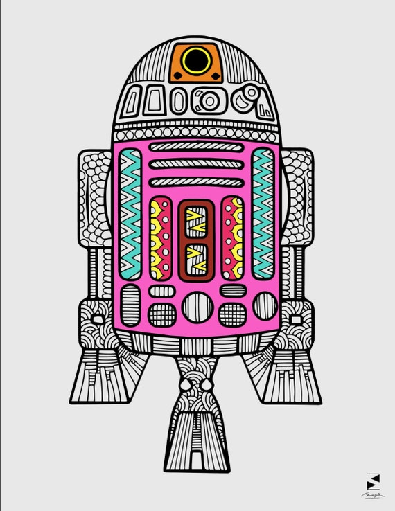 Selective image with regard to r2d2 printable