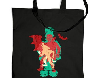 Monster Silhouettes tote bag
