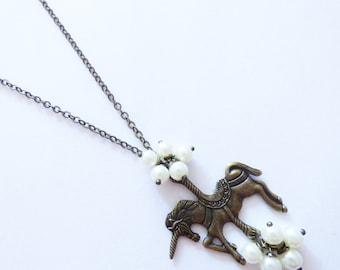 Unicorn Necklace CO086