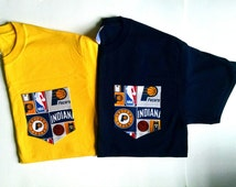 NBA-Indiana Pacers- Pocket T-Shirt- Adult Unisex