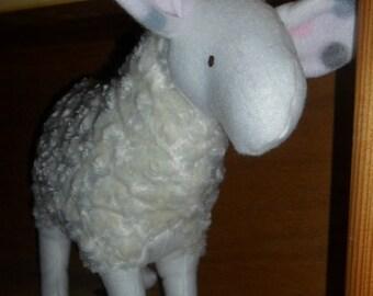 Large Furry Lamb