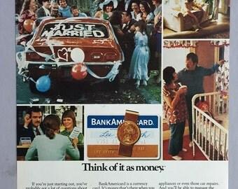 1973 BankAmericard Print Ad