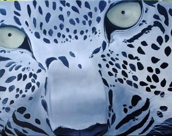 Lynx - Acrylic 36 x 24 in.