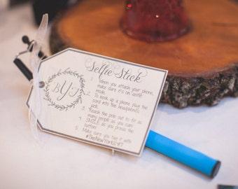 Selfie Stick Instructions, Personalized Selfie Stick, Selfie Stick Directions