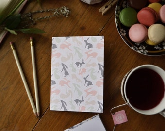 Bunnies, notecard set
