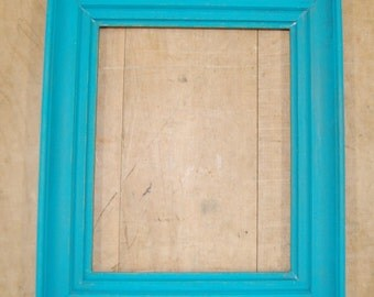 Vintage Blue Painted Frame