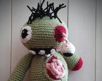 Crochet Zombie Doll