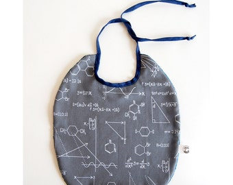 bib grey with science forms