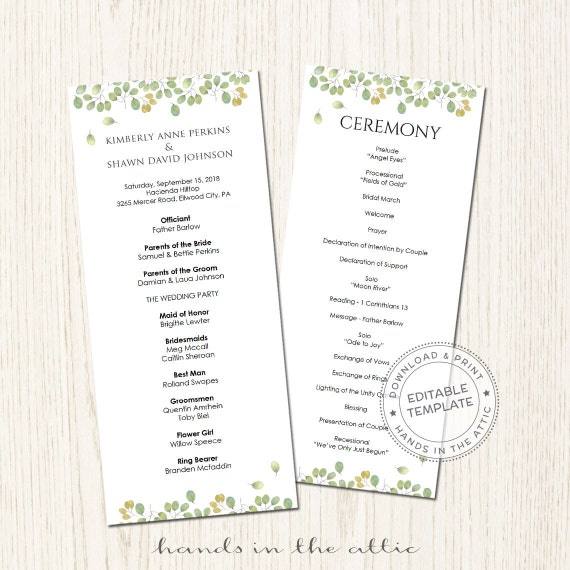 wedding party schedule template - wedding ceremony template wedding schedule ideas day of