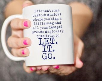 Mug- Zootopia - Life isn't some cartoon musical...