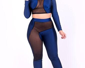 Dashing Blue Body Con Set