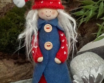 Scandinavian Christmas Doll Decoration