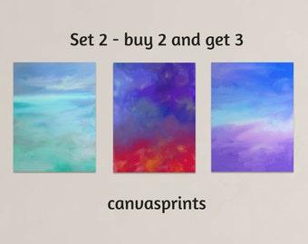 canvas print | canvas art | canvas art print | giclee set |  giclee canvas | art print set | canvas print set | large art print | large wall