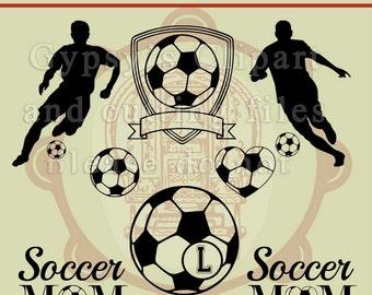 Soccer SVG, Soccer Cameo Silhouette Design, Soccer Cricut Design, Soccer Monogram, , Cutting File, Eps, svg, ai, dxf, png