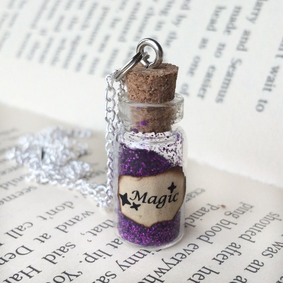 Magic Bottle Necklace / Pendant / Bookmark / Decoration / Keyring