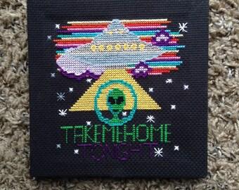 Take Me Home Tonight - Cross Stitch