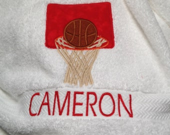 Basketball Towel