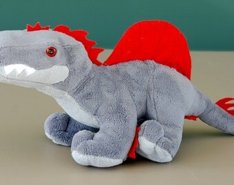 Baby Spinosaurus Custom Handmade Dinosaur Plush