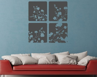 Nature Panels- Vinyl Wall Decal