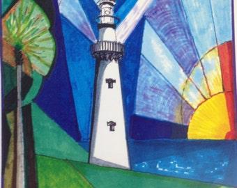 Lighthouse, St. Simons Island