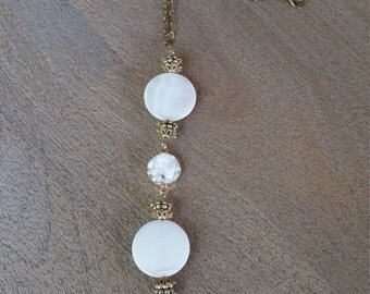 Cascading Pearl Necklace