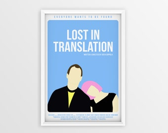 Printable Lost In Translation Film Poster // Sofia Coppola // Digital File Download // A2
