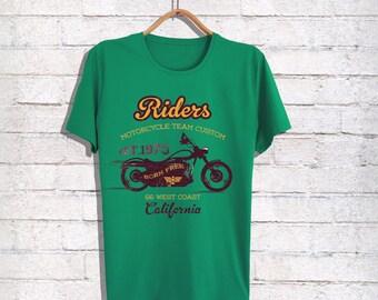 Motorcycle Mens T-shirt- Riders Mens Shirts,Mens Shirts,Mens Tshirts,Mens Clothings,Gift for Him,Gift For Husband,Customize Mens Tshirts