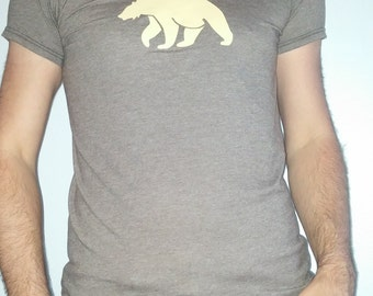 Men's Bear Tight Fitted T Shirt