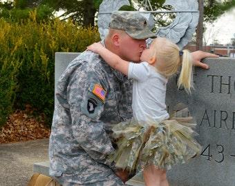 Camo Tutu, Military Homecoming Tutu, Camo Wedding, Camo Tutu  Skirt, Military Tutu, Toddler Tutu, Tutu Skirt, Army Tutu, Air Force Tutu
