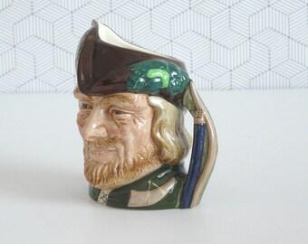 Royal Doulton Robin Hood toby mug D6534 | handpainted 1959