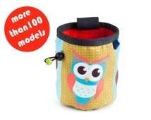 Owl Chalk Bag. Climbing Chalk Bag, Sale Rock Climbing Gifts M