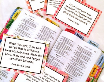 DIGITAL DOWNLOAD Series #2 Scripture Memory Cards: Worship (20 Count), Bible Verse Cards (Standard License) by Victoria Anderson