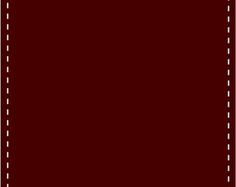 Organic Stretch Jersey Fabric - Bordeaux