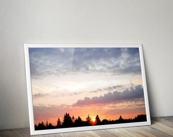 Sunset - Print