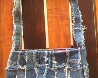Denim Shoulder Bag 016