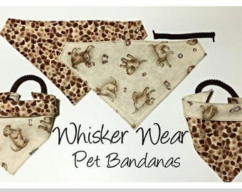 everyday wear, reversible dog scarf, dog bandana, pet scarf, pet bandana, pet attire, pet clothing,summer, reversible, everday wear,dog wear