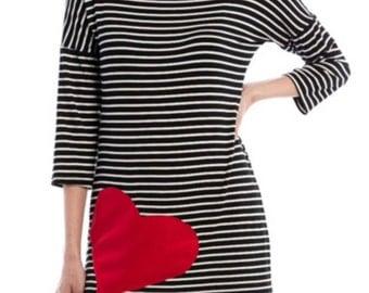 Heart Striped Tunic